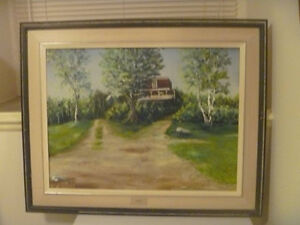 """Rockdale"" Artist Signed Painting"