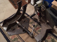 Heavy duty motorcycle stand