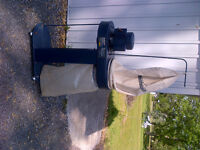 Mastercraft Electric Dust Collector with stand.
