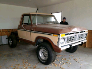 Must go - Ford F-100 project truck