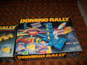 Domino Rally Intermediate and Deluxe  set vintage 1989