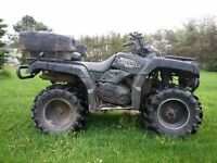 2001 Yamaha Grizzly 600 ~ Loud and proud!!!