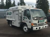 2005 GMC WT 5500 Chipper truck