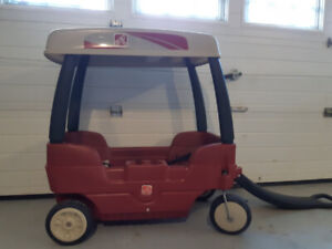 Step 2 Red Wagon with canopy $75