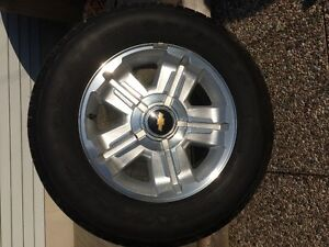 Chevy OEM Tires and wheels