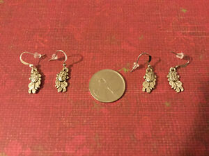 Goldfish Earrings -- (I have 2 pairs available)