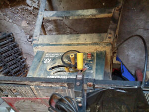 Mastercraft 13 amp 10' Table saw with stand $175 obo