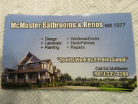home and office renovations  35 plus years exp