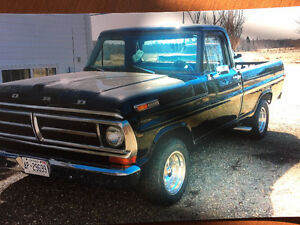 1972 F100 Short box for Sale