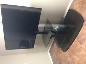 "47"" RCA TV and stand"