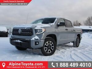 2018 Toyota Tundra TRD Offroad Package  Colour Match Bumpers and