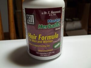 Bell Master Herbalist Hair Formula.