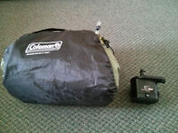 Coleman Queen Single High Airbed with pump
