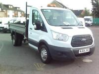 Ford Transit T350 S/CAB 125PS TIPPER DIESEL MANUAL WHITE (2014)