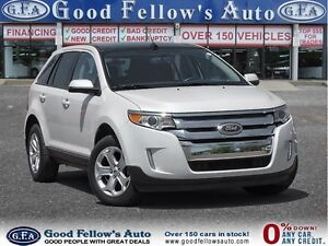 2013 Ford Edge SEL MODEL, NAV, CAMERA, PANROOF, LEATHER, 6CYL