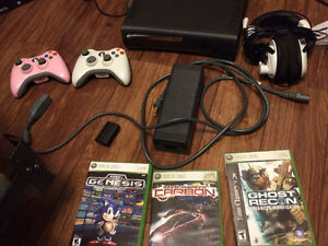 Xbox 360 Elite console - 120GB, 2 wireless controllers & more!!