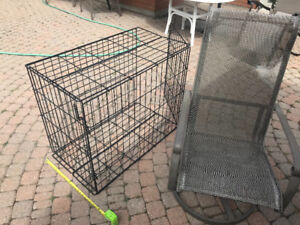 Dog Crate Length 36 x width 20 x 30 inches tall