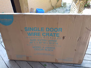 Extra large dog crate -new