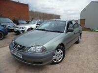 TOYOTA AVENSIS 1.8 PETROL AUTO 12 MONTHS MOT ONE OWNER