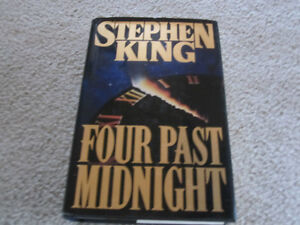 Stephen King - Four Past Midnight - hard cover novel