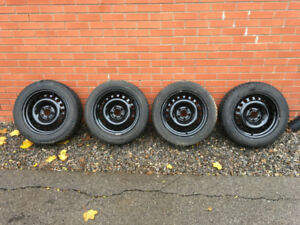 215/55 R16 97H METEO CHEVY SNOW TIRES & RIMS
