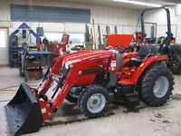 MASSEY FERGUSON 34HP HST TRACTOR - $0 DOWN 0 PAYMENT 0% INTEREST