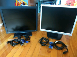 "18"" Monitor - 10$ each or 15$ for both"