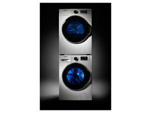 Samsung Compact Washer and Dryer Set Stackable (New)