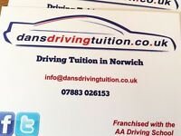 Driving tuition norwich