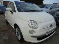 2013 63 FIAT 500 1.2 LOUNGE 3DR 70 BHP FINANCE WITH NO DEPOSIT AND NOTHING TO PA