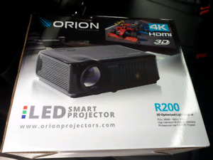 Orion R200 LED Smart Projector & Screen