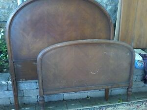 Antique Head and Foot Board