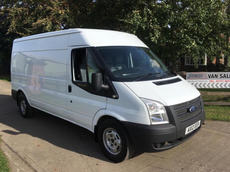 Ford Transit 22TDCi T350 LWB Semi Hi 2012 Workshop Van