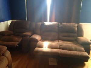 Amazing condition reclining couch set