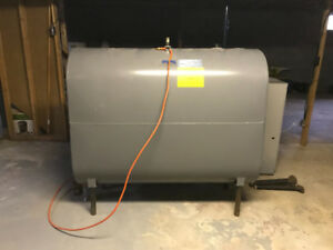 Oil Furnace and Tank For Sale