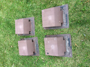 4 Used Roof vents