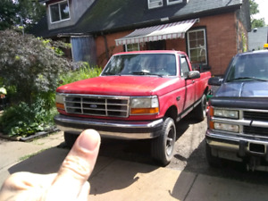 F250 167000k $3500 as is. Good Solid truck.