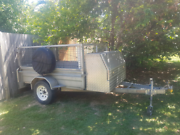 Caged Box trailer Mullumbimby Byron Area Preview