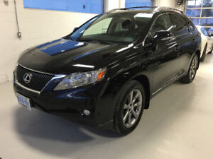 2010 Lexus RX ULTRA PREMIUM PACKAGE. NAVI, HEATED & COOLED SEATS