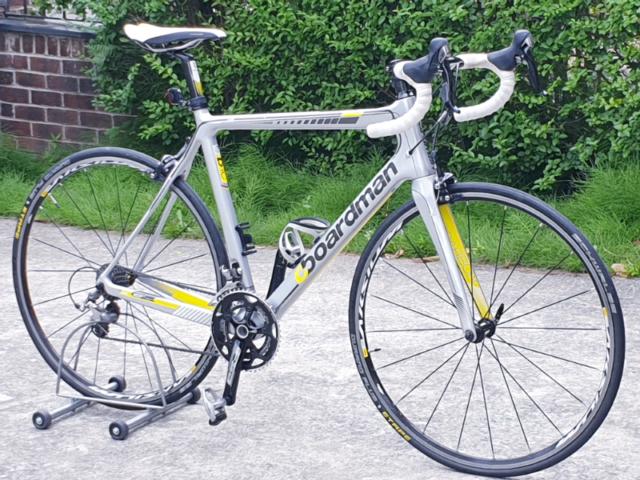 52b945f237a Boardman pro Carbon fiber Road Bike 56cm | in Oldham, Manchester ...