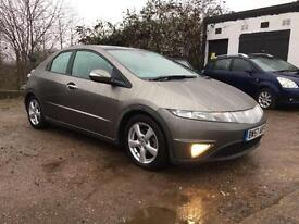 2008 Honda Civic 1.8i-VTEC ES 12 Months Mot Panoramica roof Full Service History