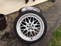 BBS LM replicas alloy wheels, 18inch 5x100 et35