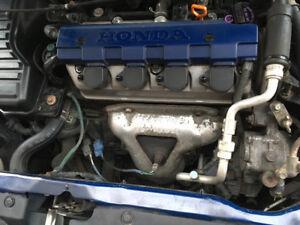 2001-2005 Honda Civic/Acura 1.7EL Blue Engine Cover