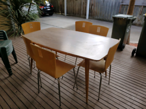 Free Table set with 6 chairs:)