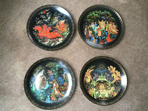 Russian Collector Plates
