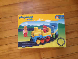 Playmobil 123 - train, plane + bus and truck