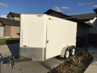 2014 H&H Enclosed Cargo Trailer - Mint Condition