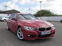 2013 BMW 3 SERIES 320d M Sport Leather GBP2165 Of Extras Parksensor