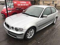 (53) BMW 320 D TD, 1 OWNER, 1 YEAR MOT, FULL SERVICE HISTORY, £1895