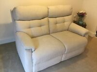 Beautiful Scs Two seater settee nearly new. BARGAIN..